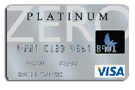 Platinum Zero® Secured Visa® Credit Card from Applied Bank®
